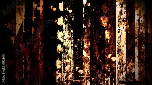 Grunge dirty background - digital animation
