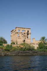 Trajan's Kiosk at Philae Temple - Ancient Egyptian Monument