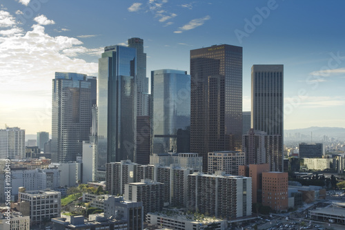 Los Angeles Skyline at Daytime