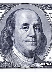 close-up 100 dollars