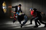 Hip Hop Men Performing poster