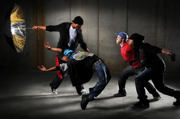 Hip Hop Men Performing