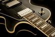 Leinwanddruck Bild - Vintage Retro Electric Guitar