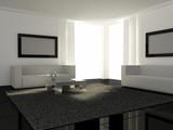 Interior design - Modern Livingroom poster