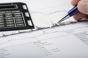 Analyzing financial data