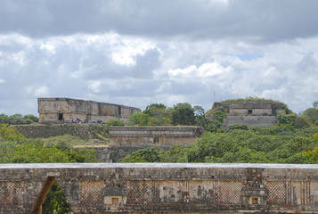 The Mayan site of Uxmal in Yucatan - Mexico
