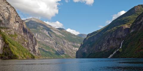 Geirangerfjord in Norway, UNESCO World Heritage Site since 2005