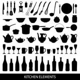 Fototapety kitchen elements