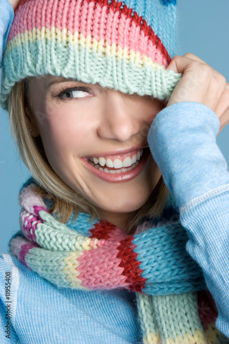 Playful Winter Teen