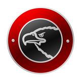 Vector emblem. Insert symbol, name and make your own emblem. poster
