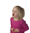 Child Moaning With Stomache Ache
