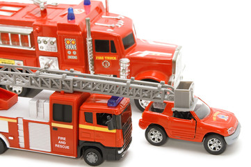 fire brigade closeup