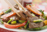stir-fried beef with vegetables (asia)