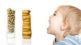 alimentation nutrition bébé enfant naturel bio vitamine fruit gé poster