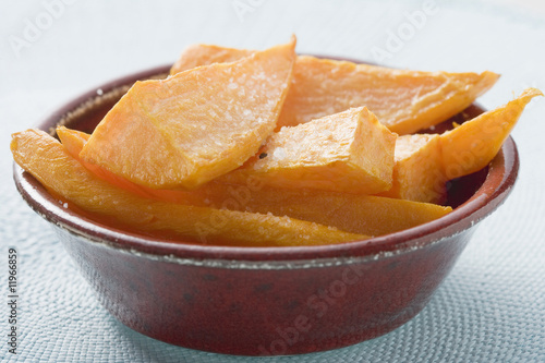 deep-fried sweet potatoes
