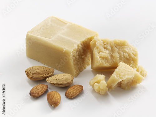 marzipan and almonds