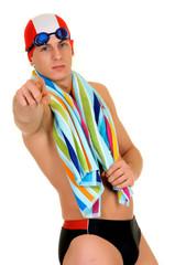 Athlete, swimmer towel