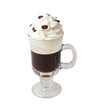 irish coffee solated on white