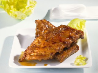 marinated roast spare-ribs