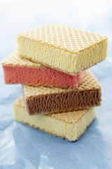 a pile of ice cream sandwiches