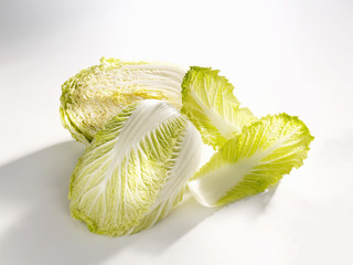 halved chinese cabbage