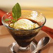 affogato (espresso with vanilla ice cream, italy)