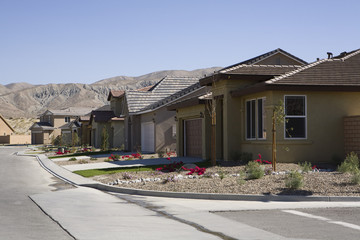 Houses in New Development