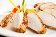 Keep a Tupperware container filled with precooked chicken or turkey...