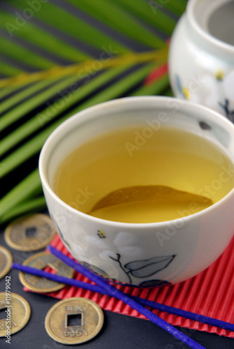 Té de hojas de naranjo