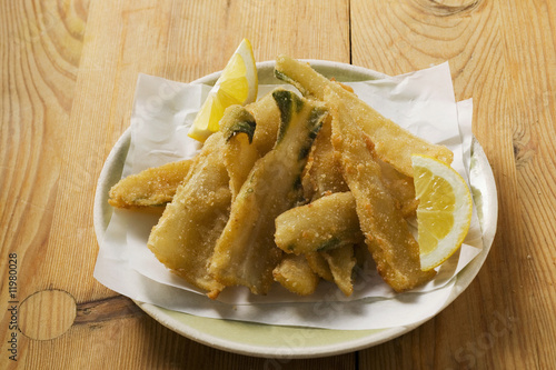 breaded chard stalks (liguria)