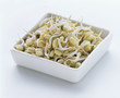 bean sprouts in rectangular dish