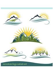 Mountain Outdoor Icons
