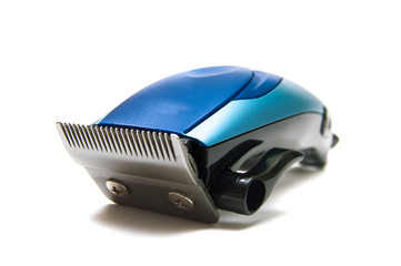 isolated electric hair clipper