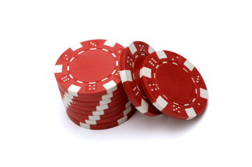 To wiec of Red Poker Chips