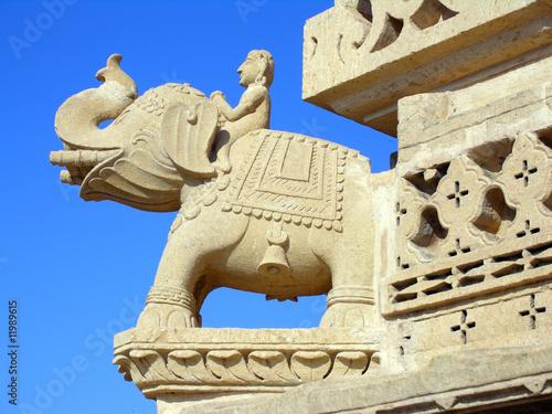 Elephant Sculpture, Rajasthan