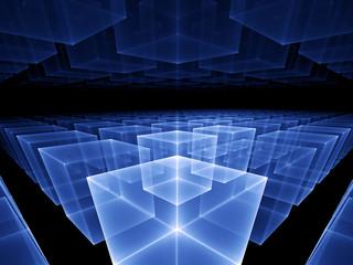 blue cubic horizon