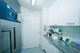 wide angle in sterile room poster