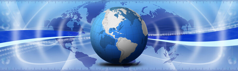 world banner concept