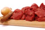 Viande rouge poster