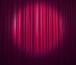 curtain with spotlight