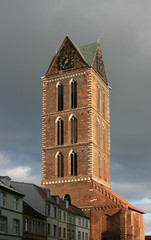 St. Marien tower (Wismar, Germany)