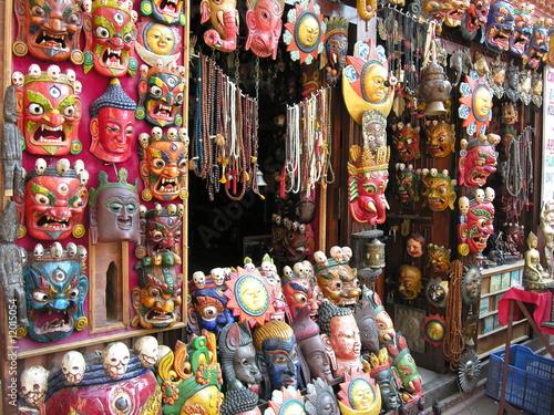 Masks, Kathmandu 2