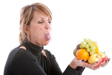 Disliking fruit