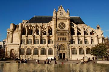 Eglise saint Eustache, Paris