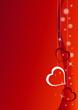 sfondo san valentino rosso