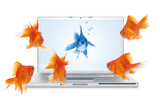 Fototapety online communication