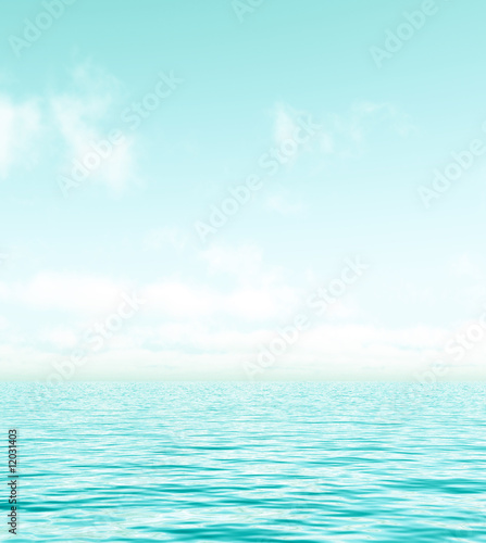canvas print picture Beautiful seascape
