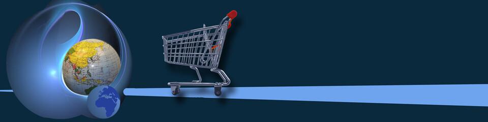 Banner World wide (e-)commerce