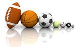 Sports balls poster