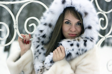 Lady in fur